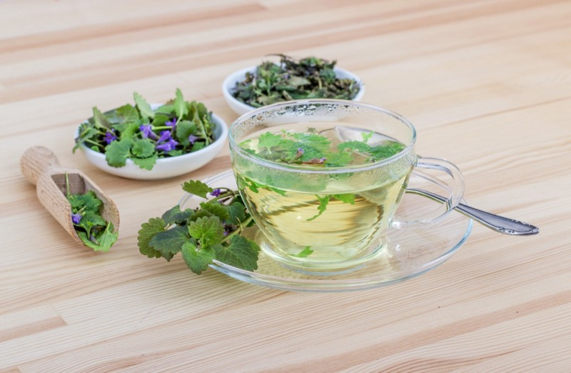 Soothing and refreshing teas can be made from either fresh or dried herbs.