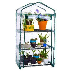 3 tier mini greenhouse
